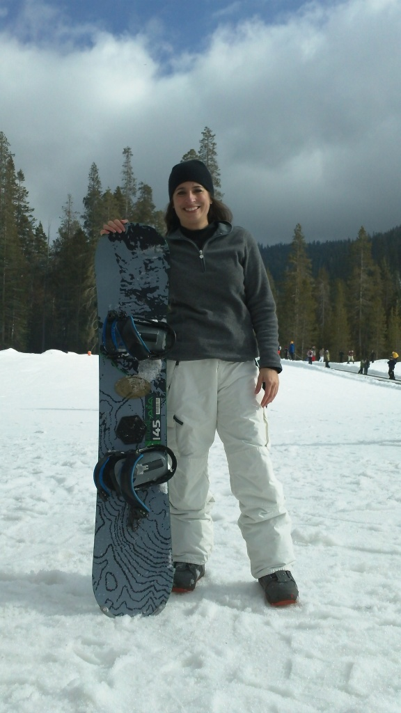 Snowboarding moxie! Only thing missing is a Mountain Dew in my hand.