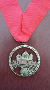 My fancy medal.