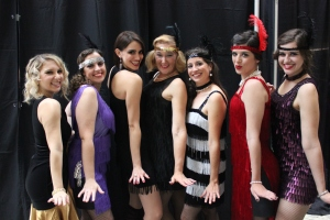 It was fun dressing up as a flapper!