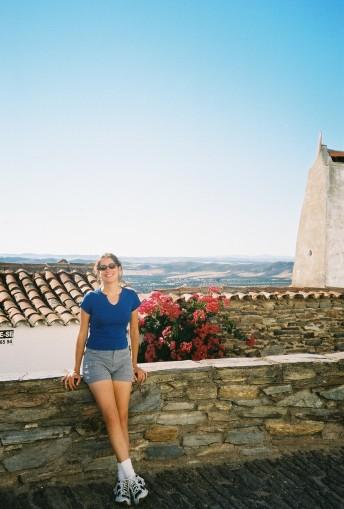 Enjoying some sun in Portugal.