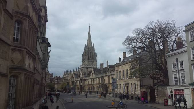 High Street Oxford