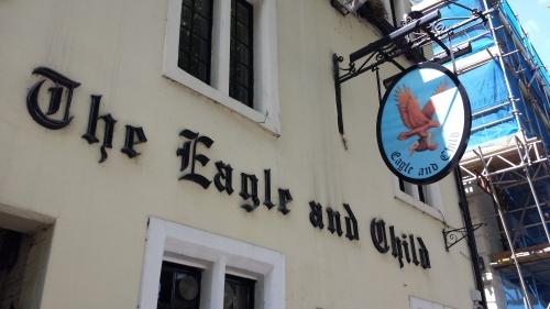 Oxford 4- famous writer's pub