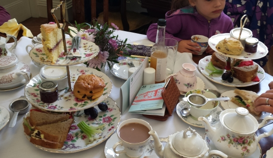 Saltram House 2- Traditional Afternoon Tea