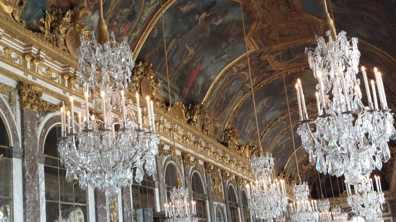 Versailles 2- Hall of Mirrors