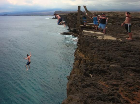 cliff jump stitch