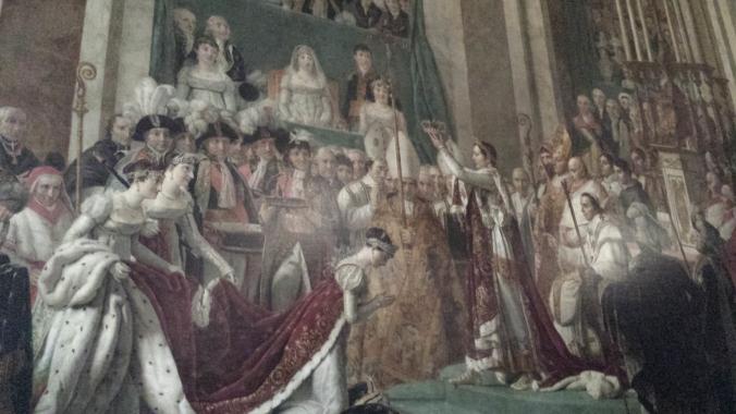 Versailles 3- Coronation Wall Painting